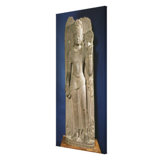 Bodhisattva Padmapani, Nalanda, Bihar, Pala dynast Canvas Print