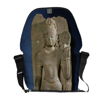 Bodhisattva Padmapani, Nalanda, Bihar, Pala dynast Courier Bags