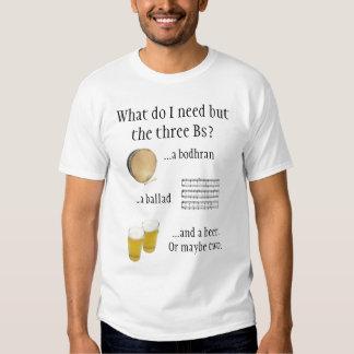 . ¡Bodhran, balada y cerveza! Poleras