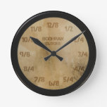 Bodhran clocks