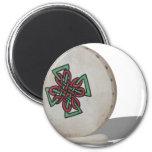 BodhranDrum092610 2 Inch Round Magnet
