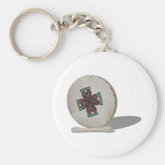 BodhranDrum092610 Keychain
