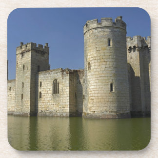 Bodiam Castle (1385), reflected in moat, East Coaster