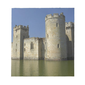 Bodiam Castle (1385), reflected in moat, East Memo Notepad