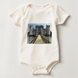 Bodiam Castle Baby Bodysuit