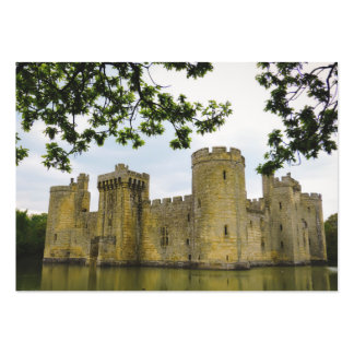 Bodiam castle large business cards (Pack of 100)