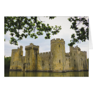 Bodiam castle greeting cards