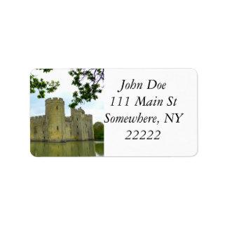 Bodiam Castle Address Label