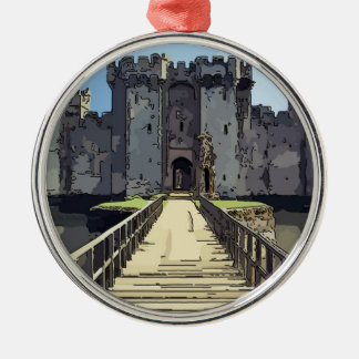 Bodiam Castle Metal Ornament