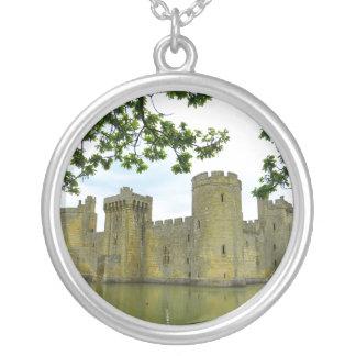 Bodiam Castle Round Pendant Necklace