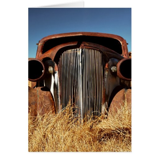 Bodie Abandoned Car Card