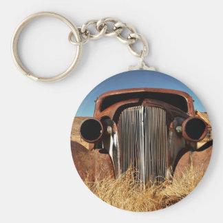 Bodie Abandoned Car Keychain