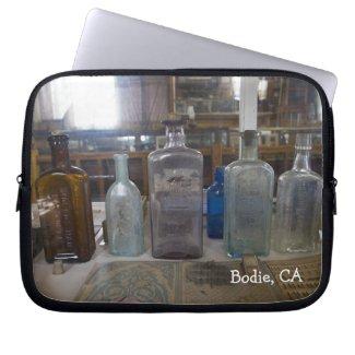 Bodie Antique Bottles Laptop Bag