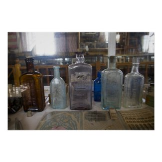 Bodie Antique Bottles Posters