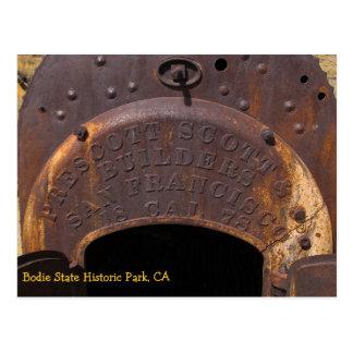 Bodie Boiler Postcard