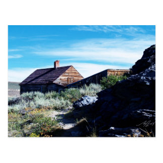 Bodie cabin post card
