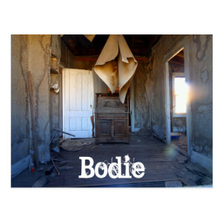 Bodie, California Ghost Town, Abandoned Home Postcard