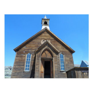 Bodie Church, CA Postcard