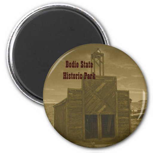 Bodie Firehouse 2 Inch Round Magnet
