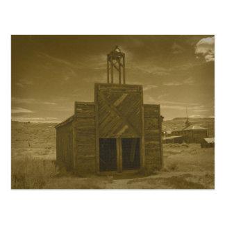 Bodie Firehouse Sepiatone Post Card