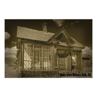 Bodie Home Poster 1 Sepiatone print