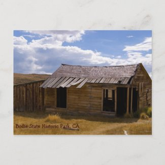 Bodie Home Sweet Home postcard