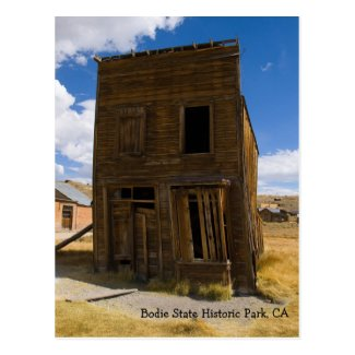 Bodie Hotel Main Street Post Card