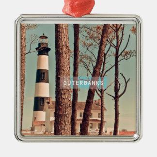 Bodie Island Light. Christmas Tree Ornament