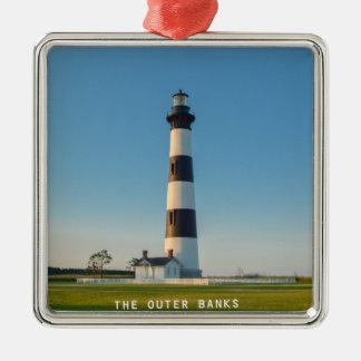 Bodie Island Light. Metal Ornament