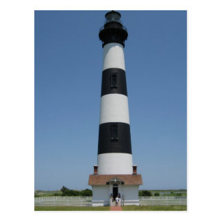 Bodie Island Light Wide Postcard