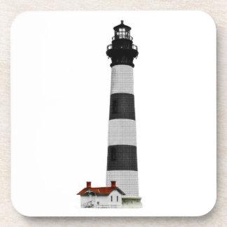 Bodie Island Lighthouse Beverage Coaster