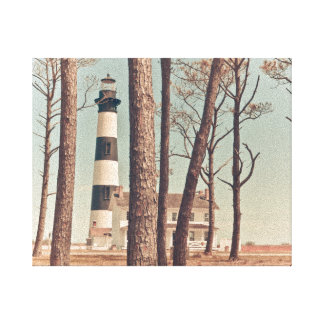 Bodie Island Lighthouse. Stretched Canvas Print