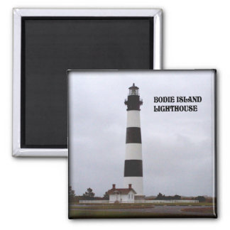BODIE ISLAND LIGHTHOUSE-MAGNET 2 INCH SQUARE MAGNET