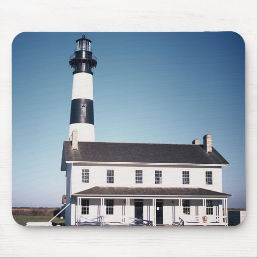 Bodie Island Lighthouse Mouse Pads