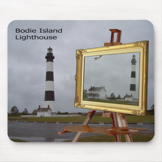 BODIE ISLAND LIGHTHOUSE-MOUSEPAD MOUSE PAD