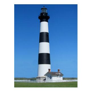 Bodie Island Lighthouse, Nags Head North Carolina Postcard