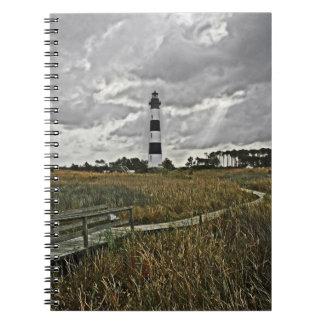 Bodie Island Lighthouse Spiral Notebooks