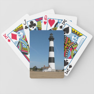 Bodie Island Lighthouse Outer Banks NC Cards Bicycle Playing Cards