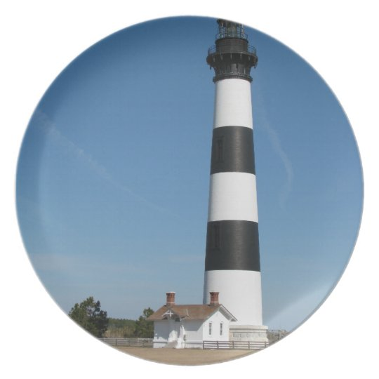 Bodie Island Lighthouse Outer Banks NC Plate
