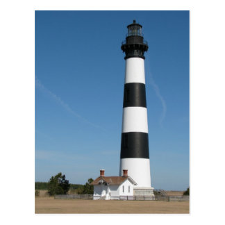 Bodie Island Lighthouse Outer Banks NC Postcard