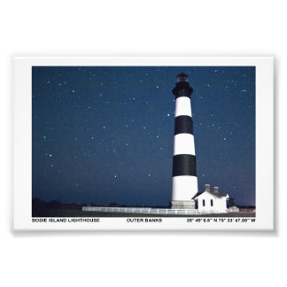 Bodie Island Lighthouse. Photo Print