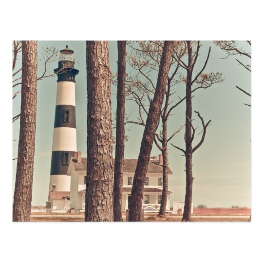 Bodie Island Lighthouse. Postcard