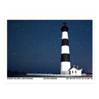 Bodie Island Lighthouse. Postcard
