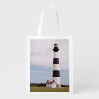 Bodie Island Lighthouse Reusable Grocery Bag