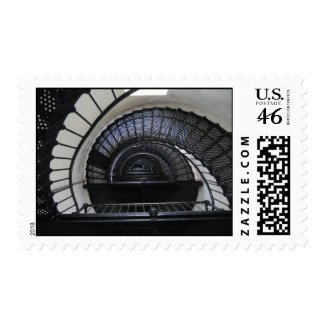 Bodie Island Lighthouse Stairwell stamp