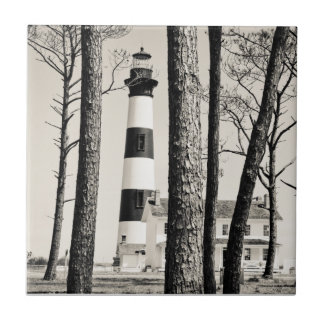 Bodie Island Lighthouse. Small Square Tile