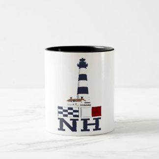 Bodie Island Lighthouse. Two-Tone Coffee Mug