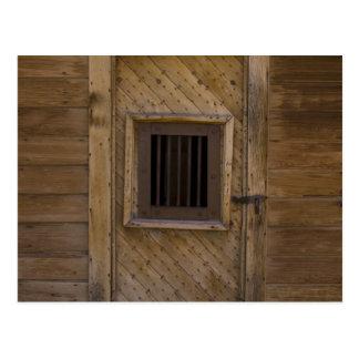 Bodie Jailhouse Door Postcard