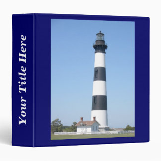 Bodie Lighthouse Outer Banks NC Binder