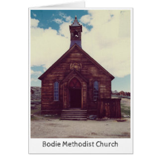 Bodie Methodist Church greeting card
